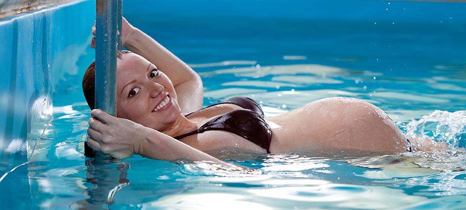 Aquagymnastik für Schwangere